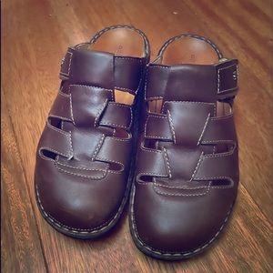 Finn Comfort Java Brown Slip-On Leather 39